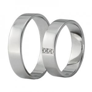 Обручальниє кольца из белого золота