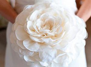 Как сделать свадебный шариз цветов?