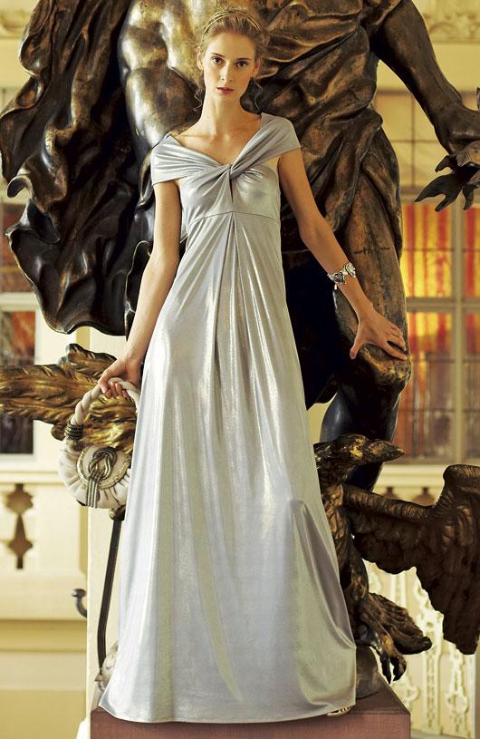 Комментарий: Выкройка вечернего платья в стиле.