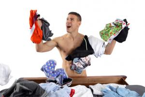 Домашнее фото мужиков в женском белье