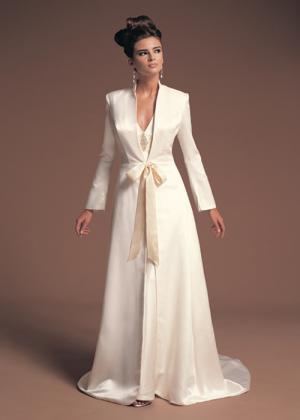 Платье свадебное с жакетом