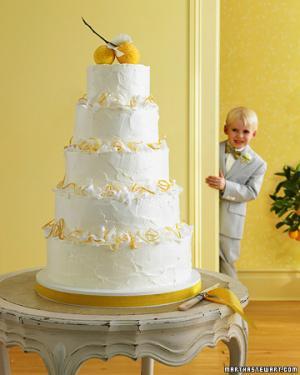 Квадратные свадебные торты