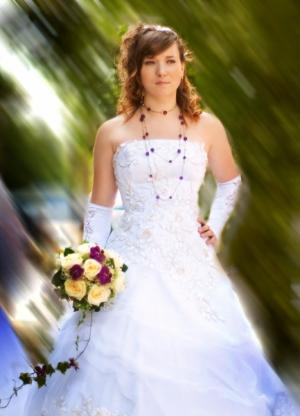 Украшение к свадебному платью
