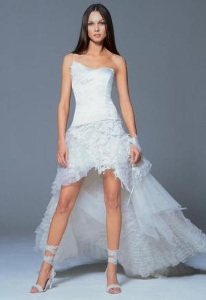 Свадебные платья до колена