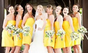 Осенняя свадьба подружки невесты