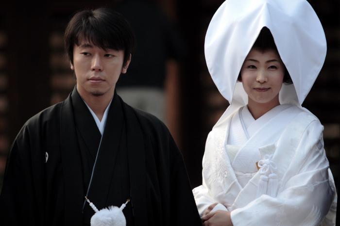 Наряды для невесты и жениха