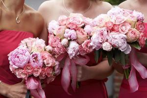 Цветочная церемония на свадьбе