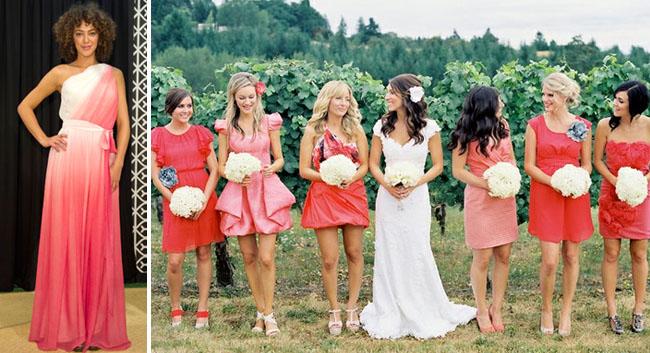Свадебный фиолетовый градиент