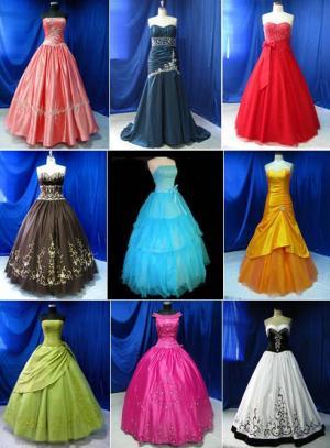 Платье много