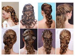 Зачіски русалки