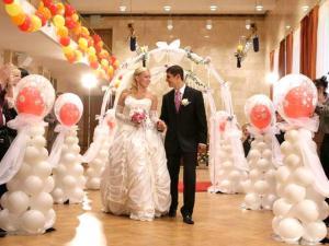 Свадебный сайт флеш воздушный шар