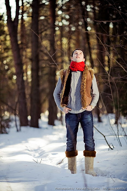 Лавстори зимой