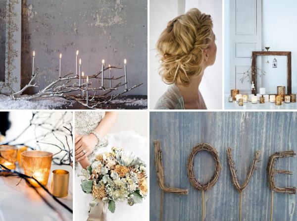Зимняя свадебная фотосъемка места