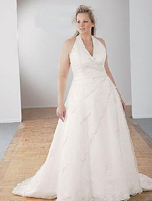 Свадебные фото где невеста пышных форм