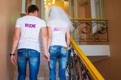 Фото джинсовых свадеб