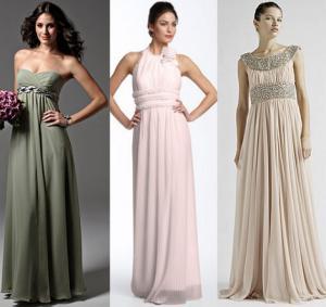 Свадебные прически под греческое платье