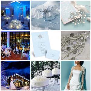 Новогодняя свадьба идеи