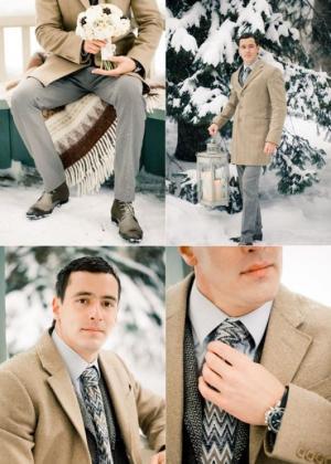 Свадебные зимние образы