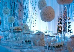 Фото новогодней свадьбы