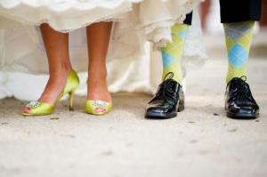 Стильные наряды жениха и невесты