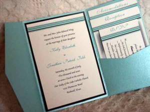 Свадьба золото с голубым