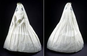 Свадебный венок с фатой