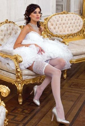 Колготки под свадебные платья