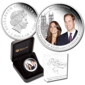 Монета к бракосочетанию Уильяма