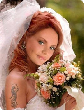 Образ для рыжих невест