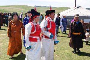 Свадебные платья монголии