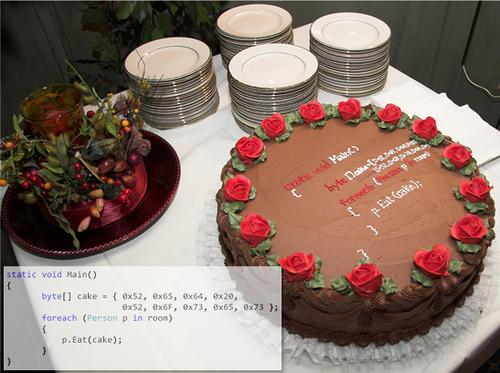 Торт для айтишника