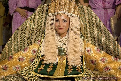 Марокканские украшения из золота