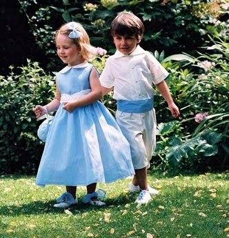 Наряды для детей на свадьбу