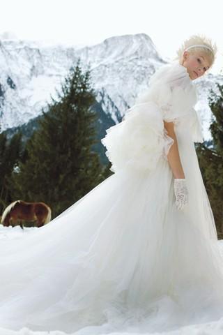 Свадьба в зимнем лесу