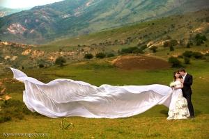 Свадьба церемония в горах
