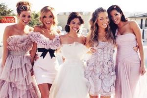 Что одеть на свадьбу весной гостье?