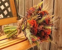 Осенние композиции из живых цветов