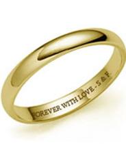 Фото обручальные кольца 585