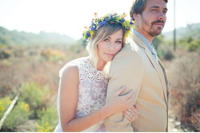 Невеста в стиле хиппи