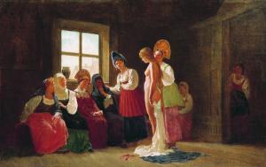 Тосты при показе приданого невесты