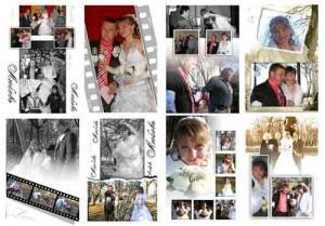 Оформление фото стены на свадьбу